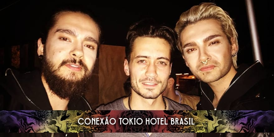 Bill e Tom Kaulitz no The Abbey & Revolver Video Bar (05.03.2016)