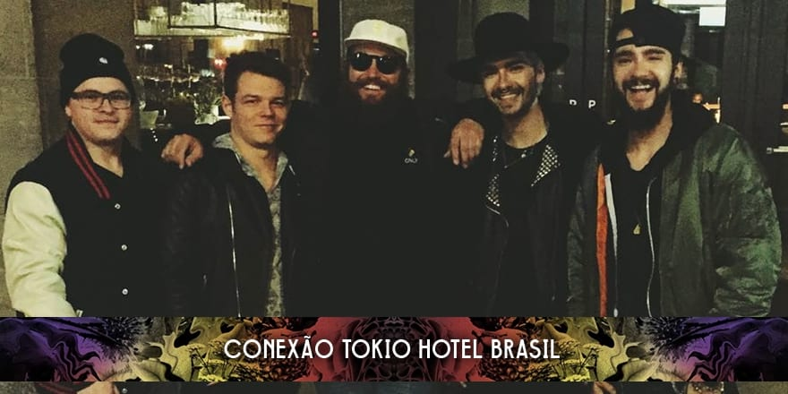 Tokio Hotel com o rapper MC Fitti (26.01.2016)