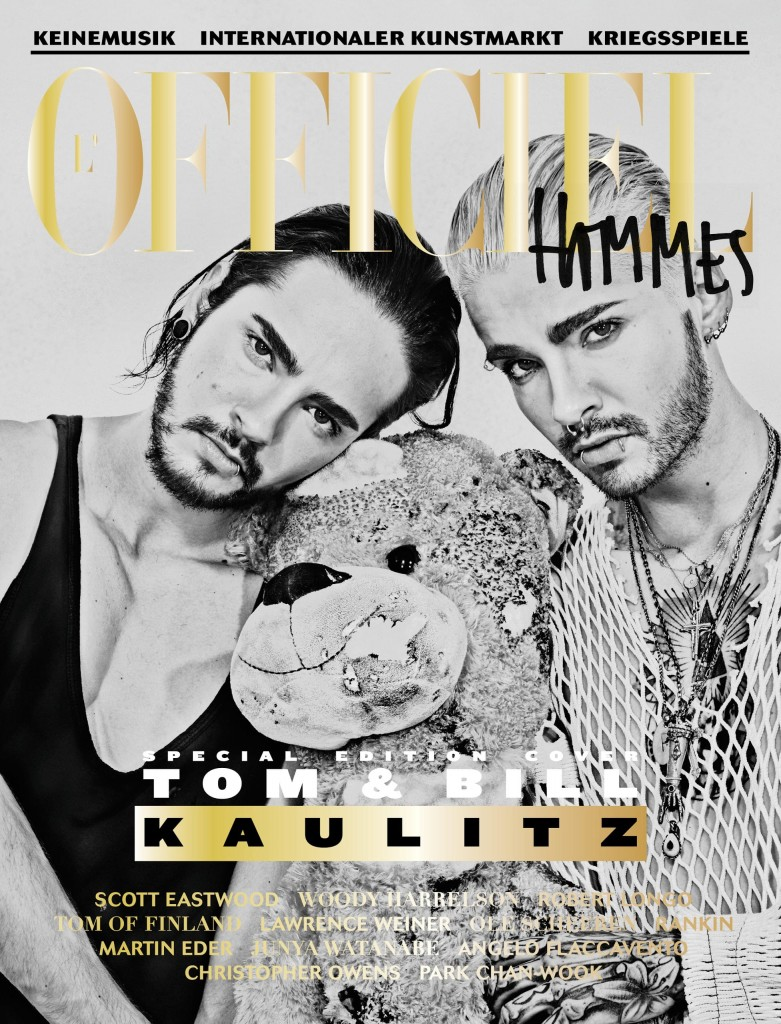 Christian Anwander 2014 Lofficiel Hommes Germany Tokio Hotel Bill Tom Kaulitz