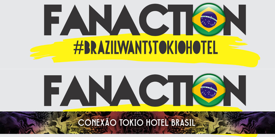Fan Action #BrazilWantsTokioHotel