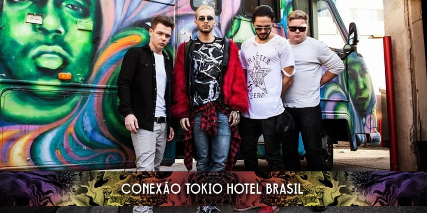 Instagram do Jam In The Van com foto do Tokio Hotel (30.01.2015)