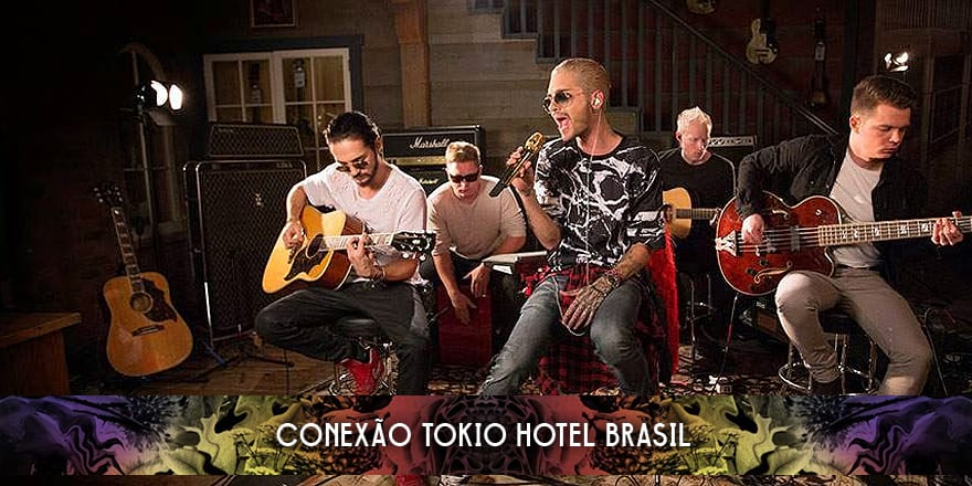 Apresentação do Tokio Hotel no 'Guitar Center', Hollywood (14.01.2015)