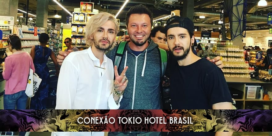 Bill e Tom Kaulitz em Los Angeles (24.06.2016)