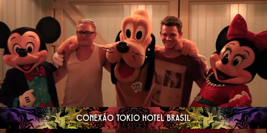 Episódio surpresa do Tokio Hotel TV na Disney