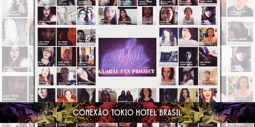 Tokio Hotel Global Fan Project – Resultados!