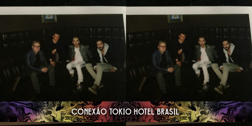 Nova foto da banda no Instagram do Tokio Hotel (12.01.2015)