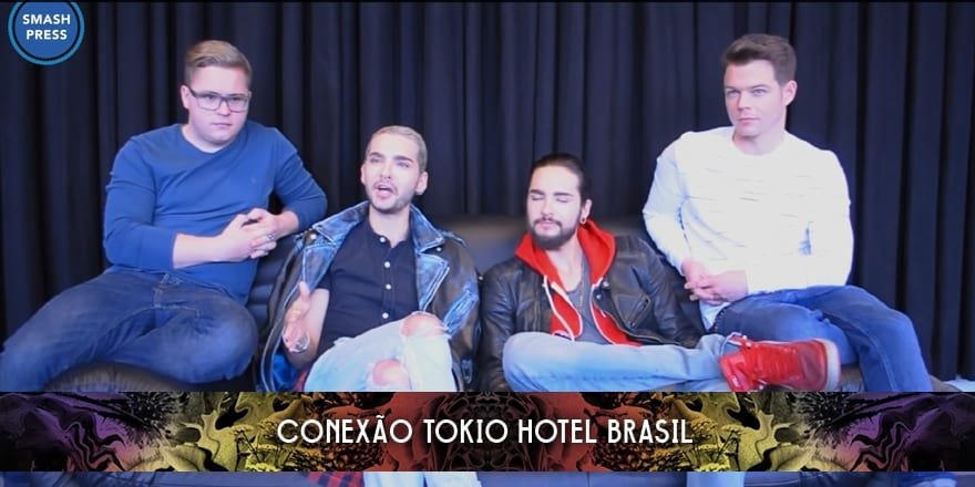Entrevista do Tokio Hotel para a Smash Press (06.03.2015)