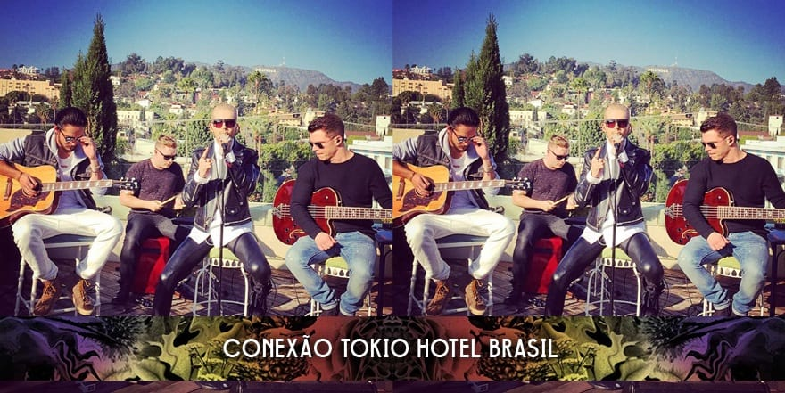 De-Code LTD posta foto do Tokio Hotel (20.01.2015)