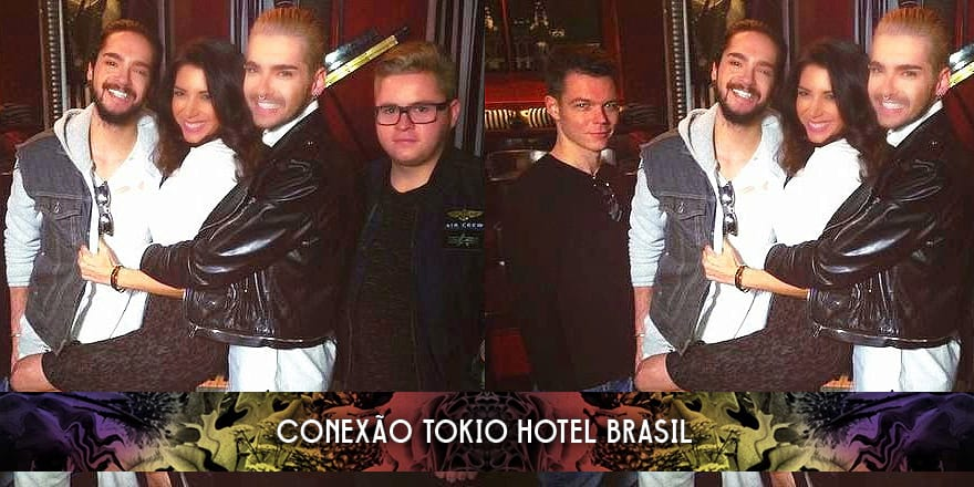Entrevista do Tokio Hotel com Viviana Vigil da Ok! TV – Los Angeles