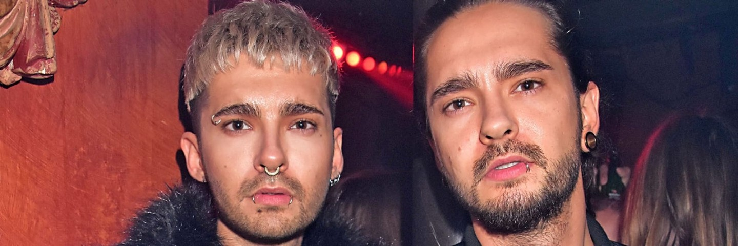 Bill e Tom Kaulitz na Dandy Diary Party (16.01.2017)