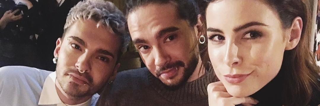 Bill e Tom Kaulitz na Lala Berlin (18.01.2017)