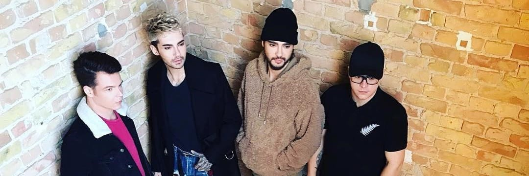 Photoshoot do Tokio Hotel em Berlim (21.02.2017)