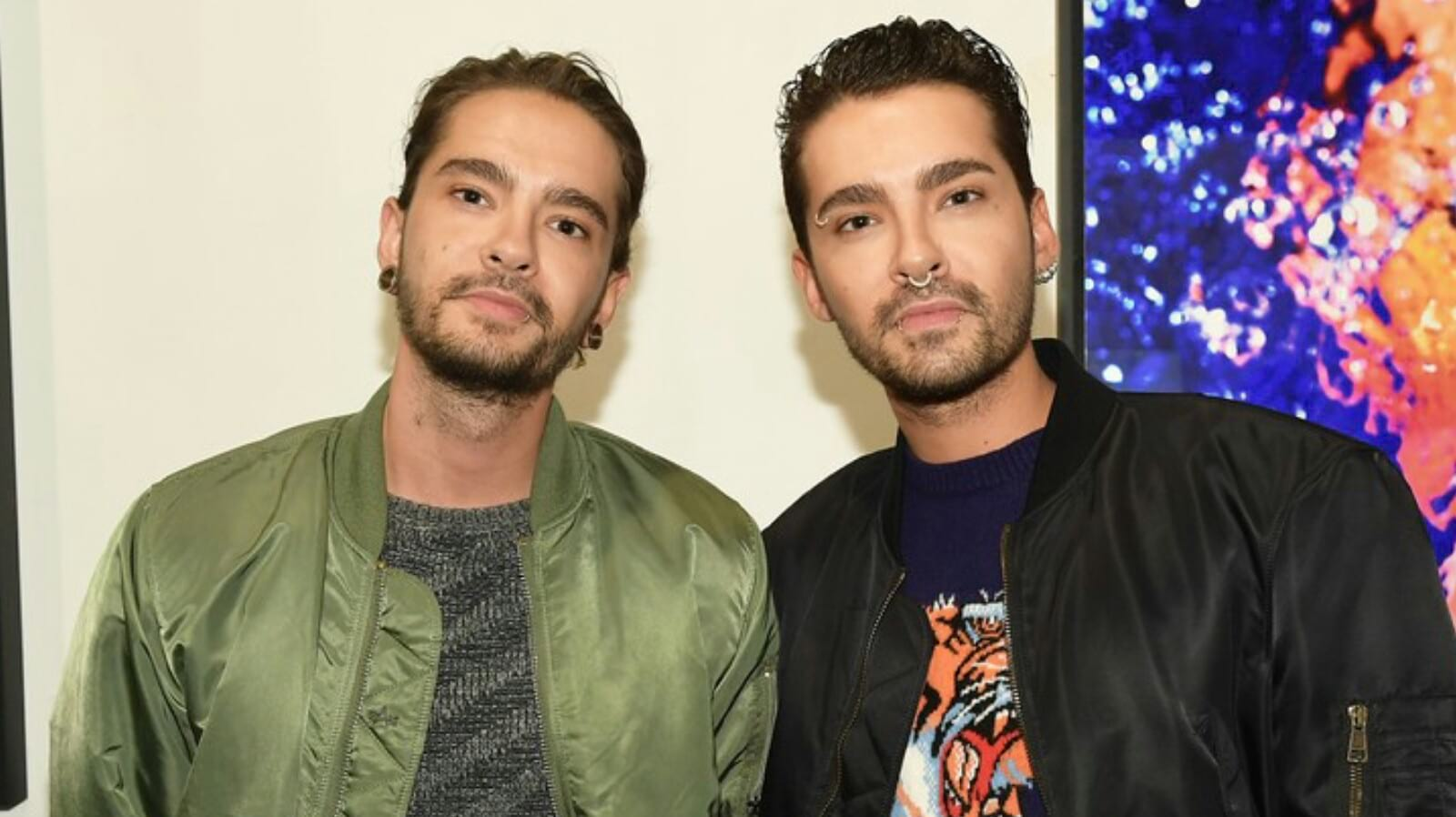 Bill e Tom Kaulitz no Emulsion Art Exhibition Reception (22.03.2018)