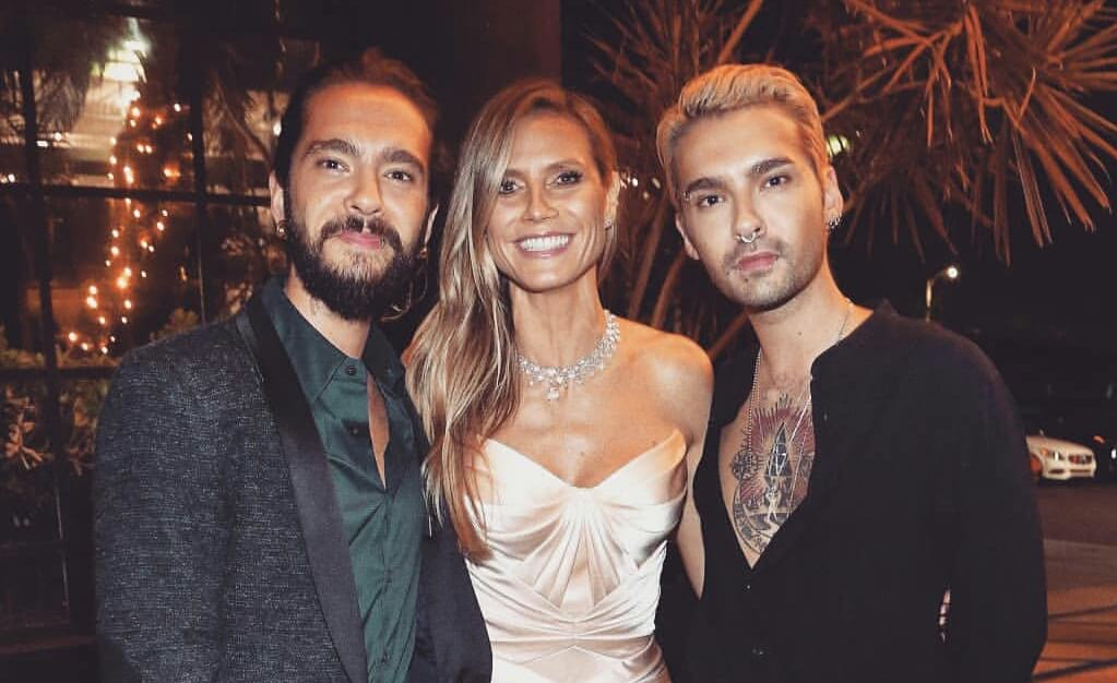 Bill, Tom e Heidi Klum na premiação Emmy Awards (17.09.2018)