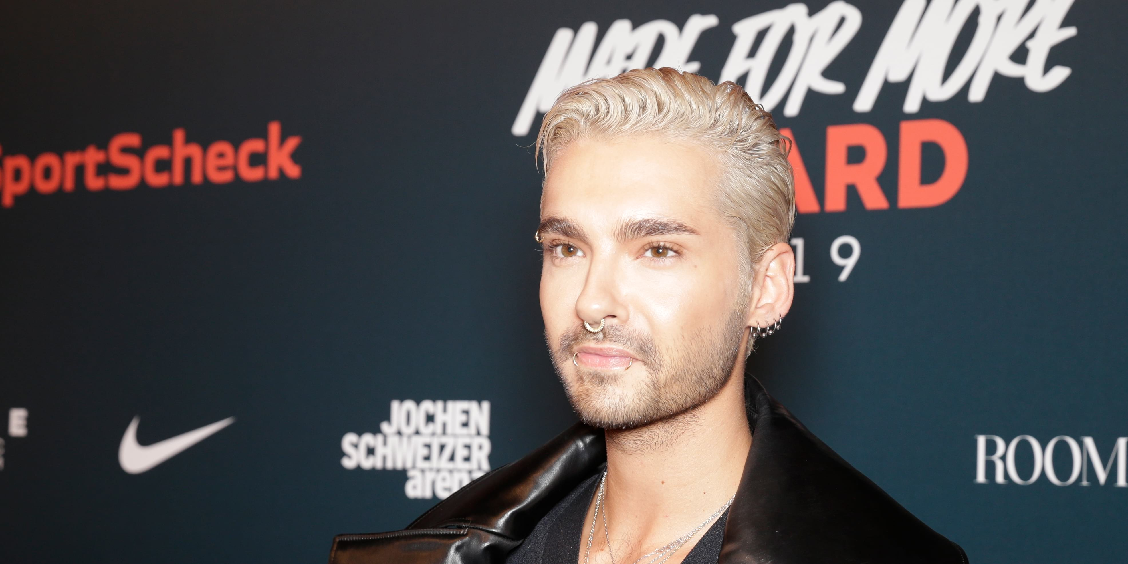 "Bill Kaulitz no ""Made for More Award 2019"" (02.02.2019)"