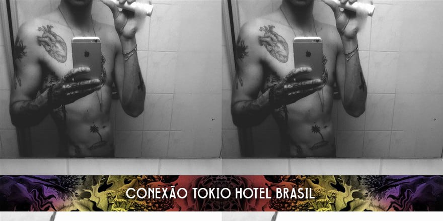 bill-kaulitz-shirtless-after-shower-tokio-hotel-instagram-march-2015