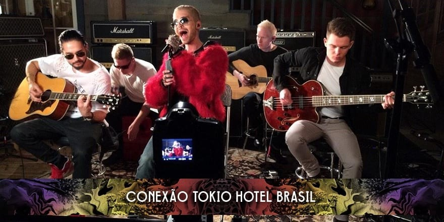 tokio hotel guitar center 2015